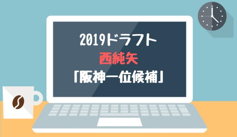 ドラフト2019候補 西純矢(創志学園)「阪神一位候補」