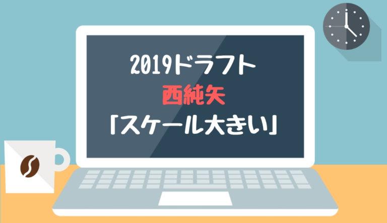ドラフト2019候補 西純矢(創志学園)「スケール大きい」