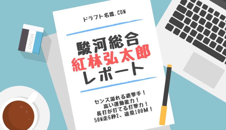 ドラフト2019候補 紅林弘太郎(駿河総合)指名予想・評価・動画・スカウト評価