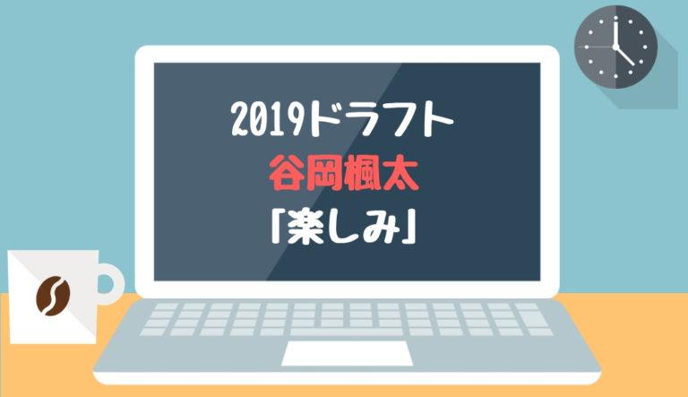 ドラフト2019候補 谷岡楓太(武田)「楽しみ」