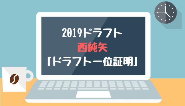 ドラフト2019候補 西純矢(創志学園)「ドラフト一位証明」