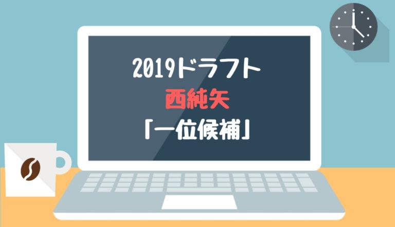 ドラフト2019候補 西純矢(創志学園)「一位候補」