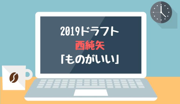ドラフト2019候補 西純矢(創志学園)「ものがいい」