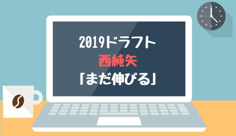 ドラフト2019候補 西純矢(創志学園)「まだ伸びる」