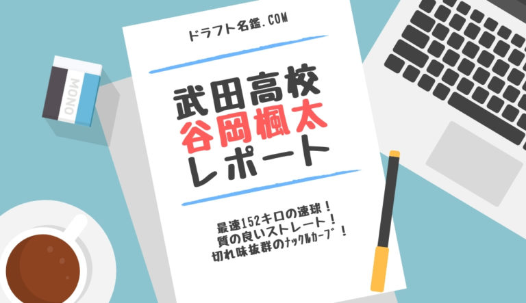 谷岡楓太(武田)指名予想・評価・動画・スカウト評価