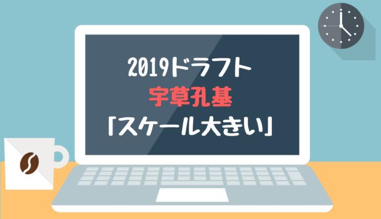 ドラフト2019候補 宇草孔基(法政大)「スケール大きい」