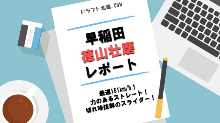 徳山壮磨(早稲田)指名予想・評価・動画・スカウト評価