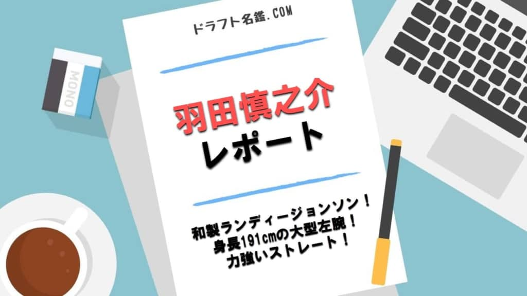 羽田慎之介(八王子)指名予想・評価・動画・スカウト評価