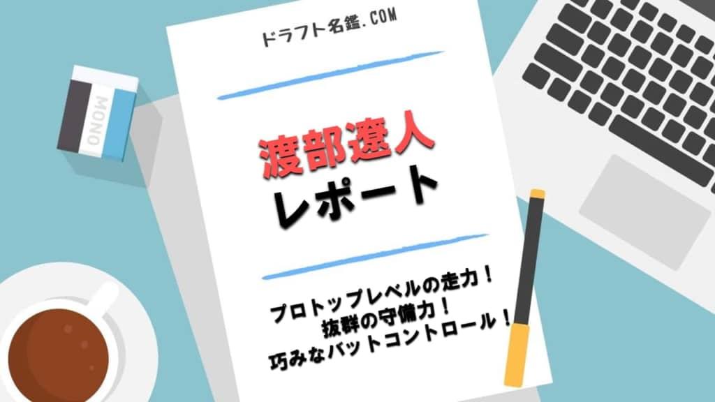 渡部遼人(慶應大)指名予想・評価・動画・スカウト評価